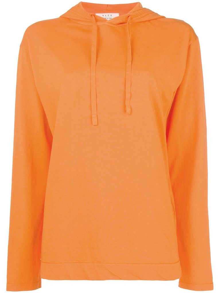 ALYX ALYX WOMEN COLLECTION HOODED LONG SLEEVE TEE
