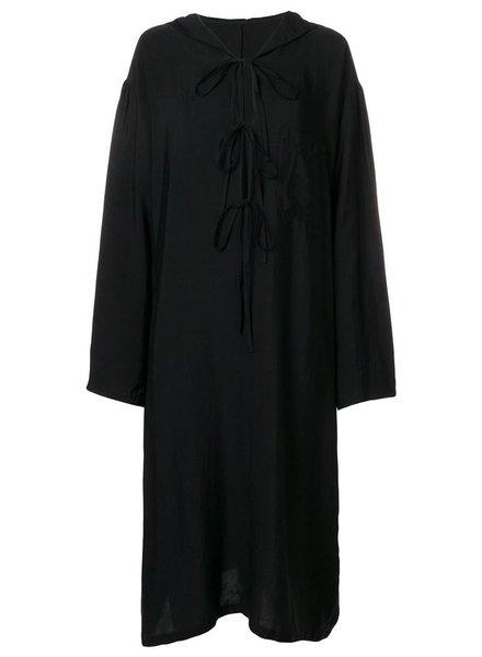Y~S Y~S WOMEN HOODED DRESS