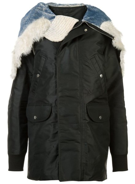 RICK OWENS RICK OWENS WOMEN JUMBO PARKA BROTHER