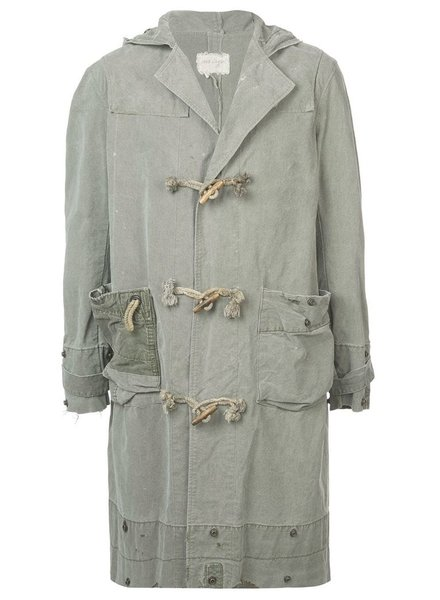 GREG LAUREN GREG LAUREN MEN ARMY TENT TOGGLE COAT