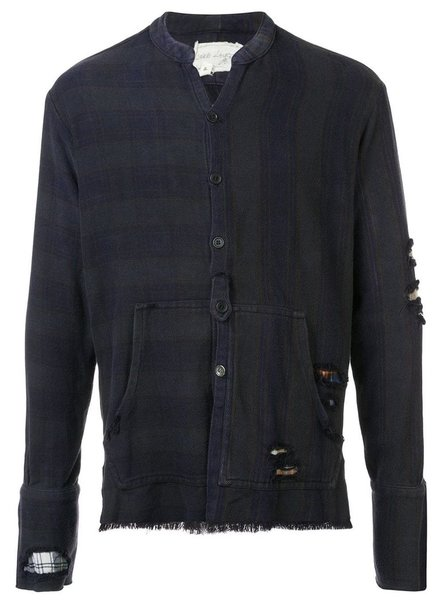 GREG LAUREN GREG LAUREN MEN VENICE NIGHT STUDIO SHIRT WITH POUCH