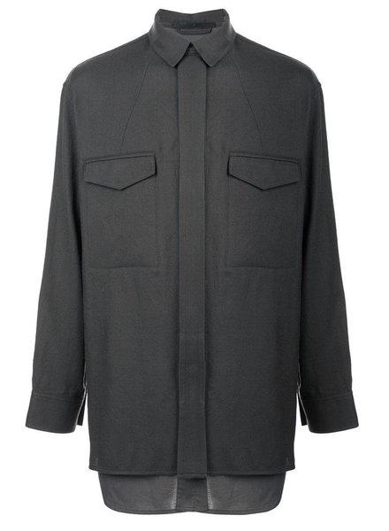 HAIDER ACKERMANN HAIDER ACKERMANN MEN DOUBLE LAYER SHIRT