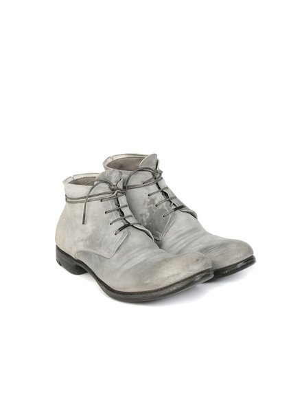 LAYER-0 LAYER-0 MEN REVERSE CORDOVAN GOODYEAR ANKLE BOOTS