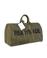 READYMADE READYMADE VINTAGE ARMY TENT OVER NIGHT BAG