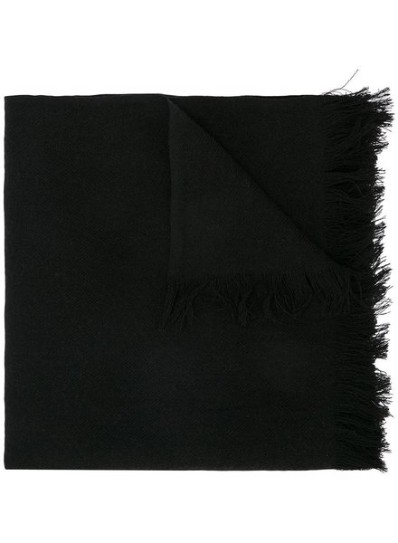 YOHJI YAMAMOTO POUR HOMME YOHJI YAMAMOTO POUR HOMME DISCHARGE HANNYA STOLE SCARF
