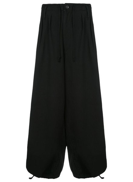 YOHJI YAMAMOTO POUR HOMME YOHJI YAMAMOTO POUR HOMME A-BALLOON P WASHED PANTS