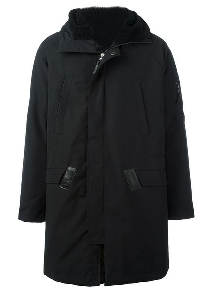 11 BY BORIS BIDJAN SABERI 11 BY BORIS BIDJAN SABERI MEN PRIMALOFT LINED PARKA