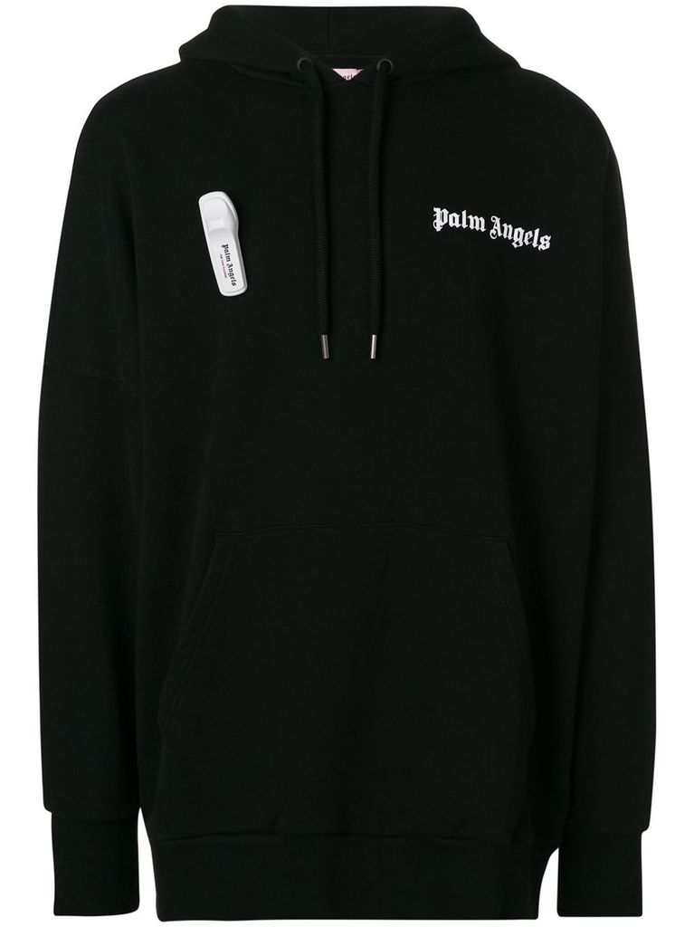 PALM ANGELS PALM ANGELS MEN NEW BASIC HOODIE