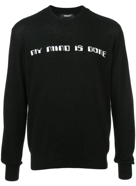 UNDERCOVER UNDERCOVER MEN MY MIND IS GONE SWEATER