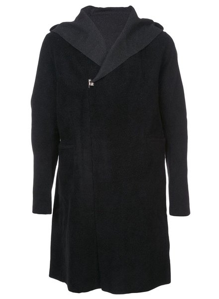 TAICHIMURAKAMI TAICHI MURAKAMI MEN REVERSIBLE HOODED COAT
