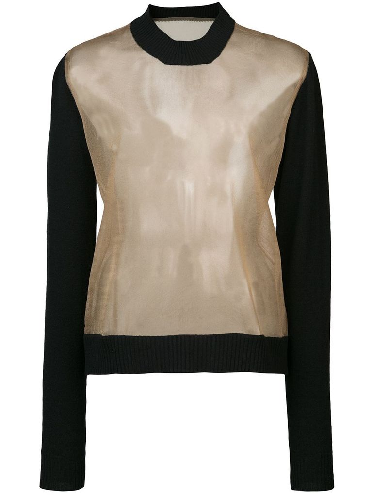 UMA WANG UMA WANG WOMEN LONG SLEEVE KNIT TOP