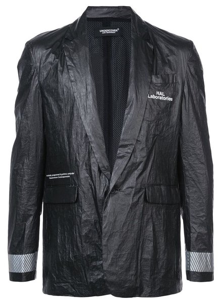 UNDERCOVER UNDERCOVER BLAZER JACKET WITH REFLECTIVE DETAIL
