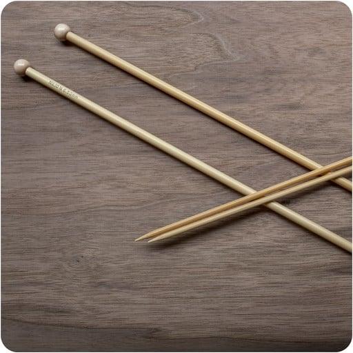 ka bamboo     straight needles