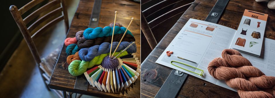 focused on natural and sustainable yarns and supplies...