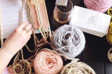 kellee creative     weaving class