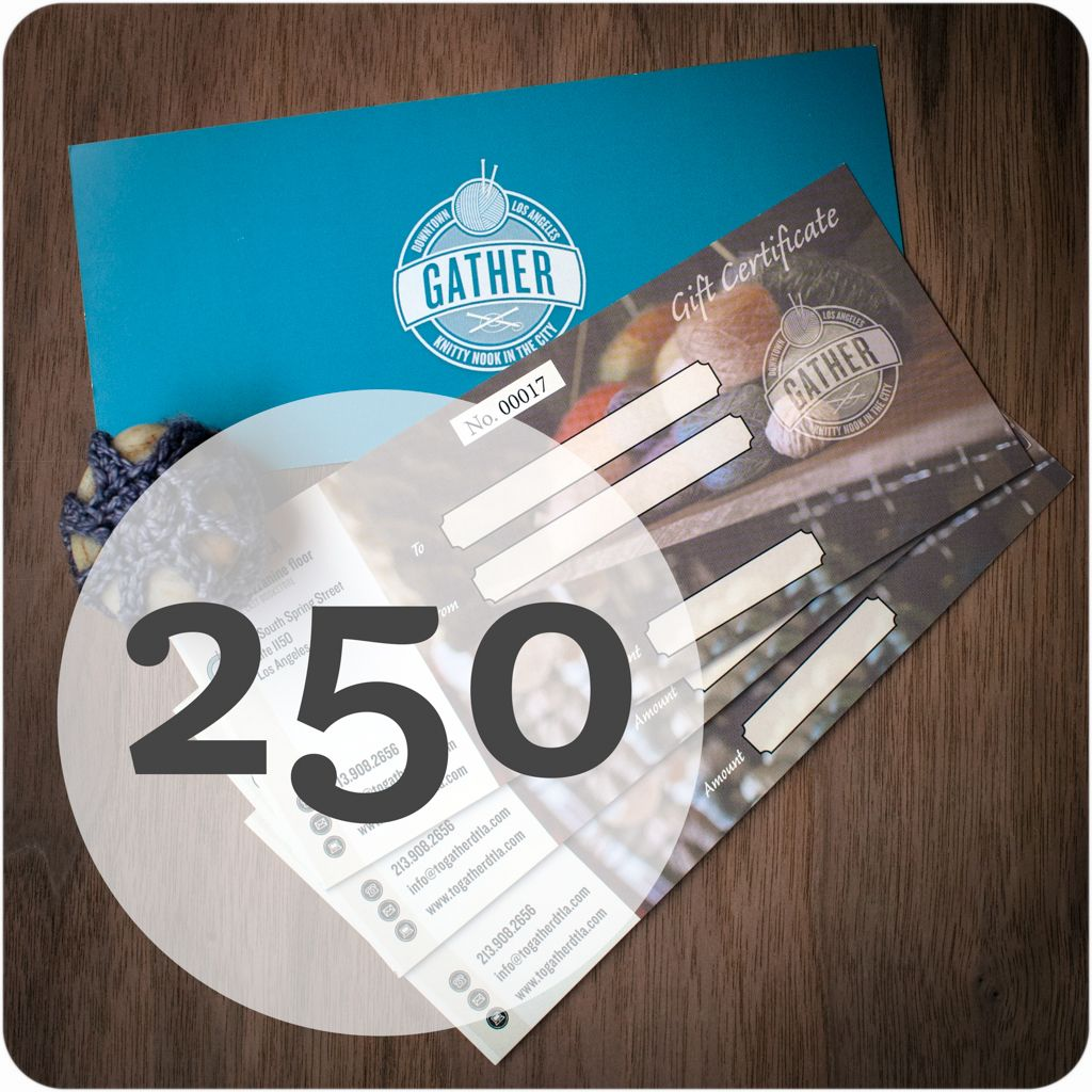Gather DTLA gather gift card