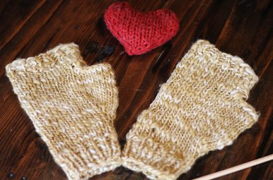 knit a mitt class