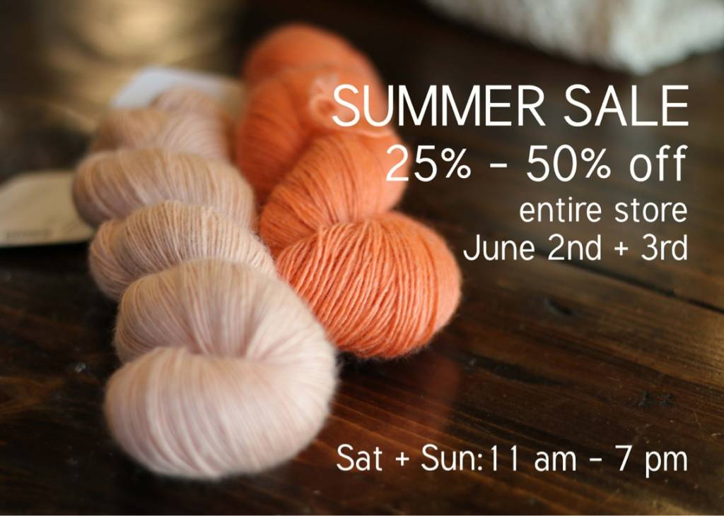 Shop Musings: Summer Sale