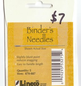 Bookbinder's Needles, Package of 5