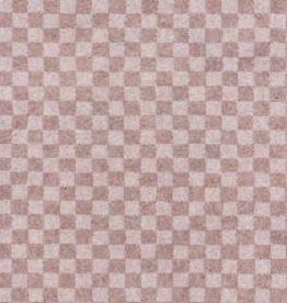 "Japan Ichimatsu Lace White, Checker Pattern, 23"" x 37"""