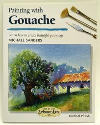 Painting with Gouache, 48 Pages, Soft Back Book , Sale Book