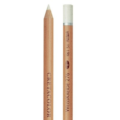 Cretacolor Artist Pencil, White Chalk Soft
