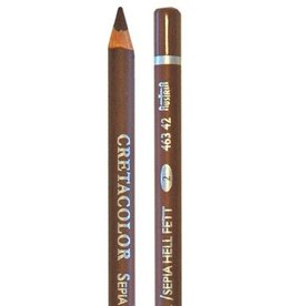 Cretacolor Artist Pencil, Sepia Light