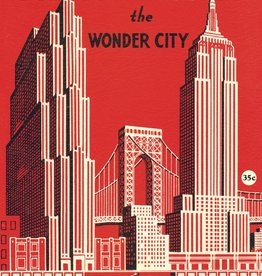 "Italy Cavallini Print, New York Wonder City Map, 20"" x 28"""