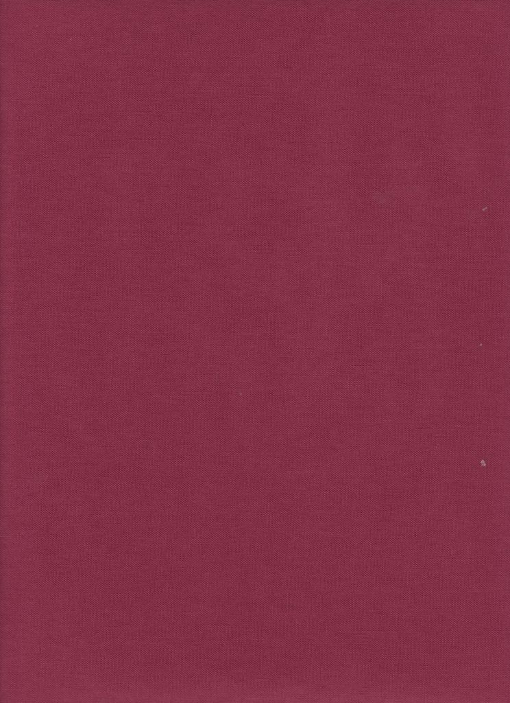 "France Book Cloth Burgundy, 17"" x 38"", 2 sheets, Acid-Free, 100% Rayon, Paper Backed"