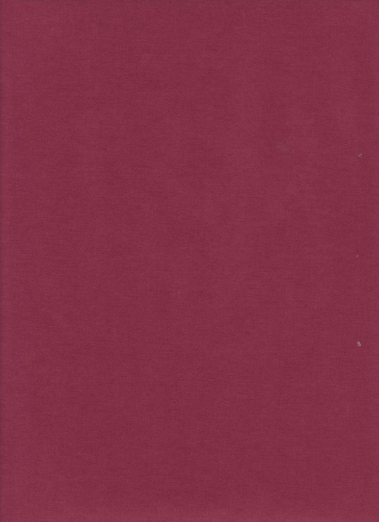 "France Burgundy, Book Cloth, Superior, 17"" x 38"","