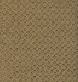 "Nepal Embossed Ellipses Olive Green, 19"" X 28"""