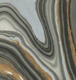 "Thailand Momi Marbled Black/Gold/Silver, 25"" x 36"", 30 gram"