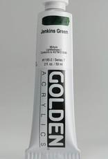 Golden, Heavy Body Acrylic Paint, Jenkins Green, Series 7, Tube, 2fl.oz.