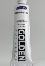 Golden, Heavy Body Acrylic Paint, Ultramarine Violet, Series 4, Tube, 2fl.oz.