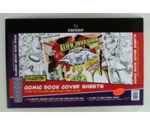 domestic canson fanboy comic book cover sheets 150lb 250gm 11 x