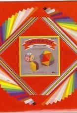 "Japan Origami, 7"" x 7"", 3 Different Sizes, Multi Color Folding Paper, 60 Total Sheets, OG1"