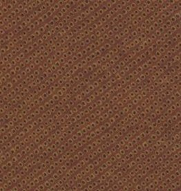 "Japan Yuzen 1900, 19"" x 25"", Brown Caviar"