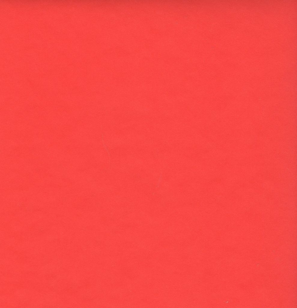 "Japan Japanese Rayon Red, 23"" x 35"""