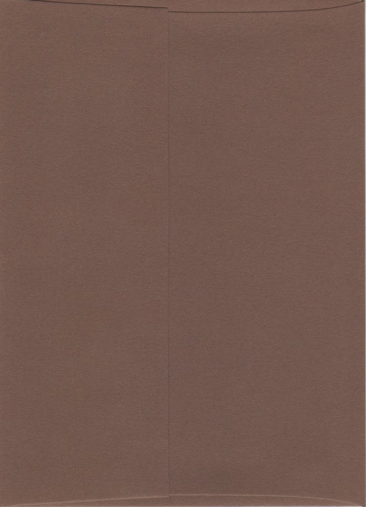 "Sorbet Envelope, Chocolate Brown, A7, 5"" x 7"""