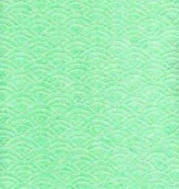 Japan Uminami Lace Mint, 21&quot; x 31&quot;<br /> Limited Availability