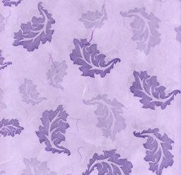 "Thailand Thai Floating Leaves Lavender, 25"" x 38"" (Limited Availability)"