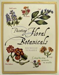 Painting Floral Botanicals, Sale Book