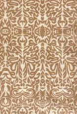 """Tribal Paper Brown on Natural, 19"""" x 28"""""""