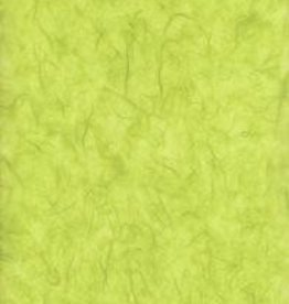 "Thailand Thai Unryu, Lime Green, 25"" x 37"""