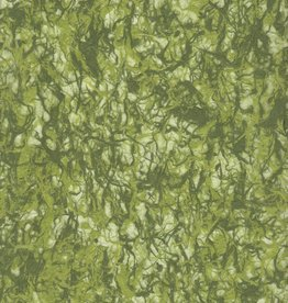 "Thailand Kozo Fiber, Lace Green and Olive, 25"" x 37"""
