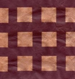 "Nepal Lokta Copper Squares on Chocolate, 20"" x 30"""
