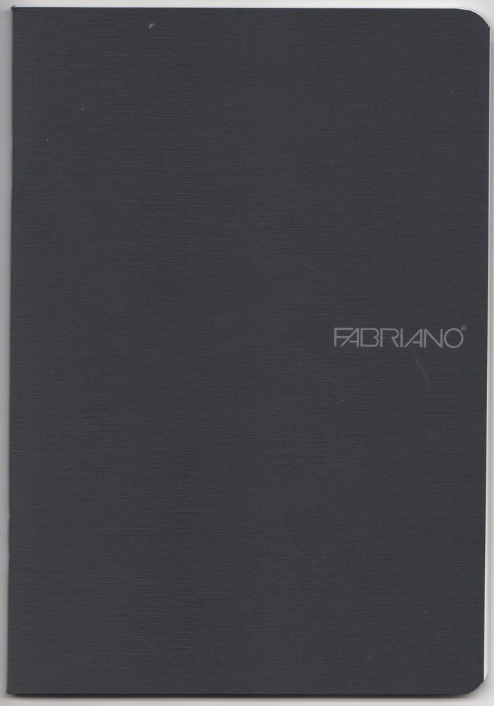 "EcoQua Blank Notebook, Black, 5.75"" x 8.25"" 40 Sheets"