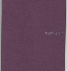 "Fabriano EcoQua Blank Notebook, Wine, 5.75"" x 8.25"", 40 Sheets"