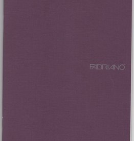 "Italy Fabriano EcoQua Blank Notebook, Wine, 5.75"" x 8.25"", 40 Sheets"