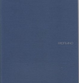 "Fabriano EcoQua Blank Notebook, Navy, 8.25"" x 11.5"", 40 Sheets"